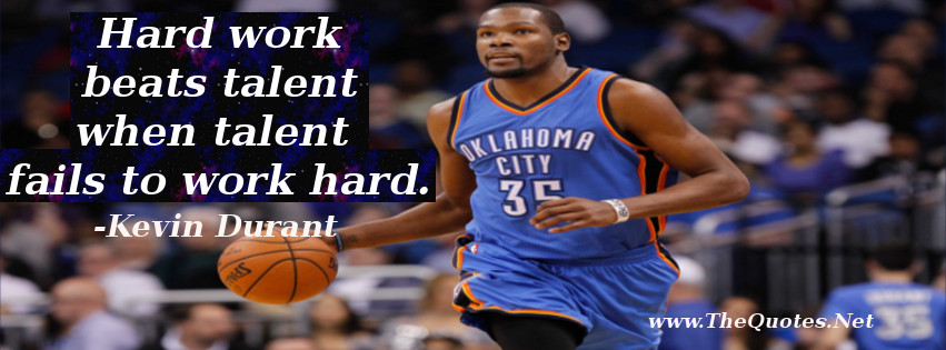Kevin Durant Quote Mesmerizing Kevin Durant Quotes  Thequotes  Motivational Quotes