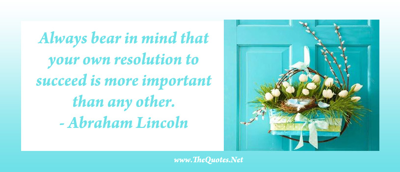 Click to set this Abraham Lincoln Quotes as Facebook Cover