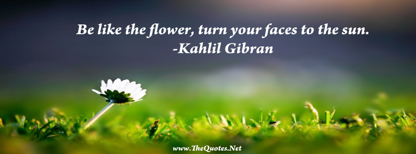 facebook cover image   kahlil gibran quotes   thequotes net
