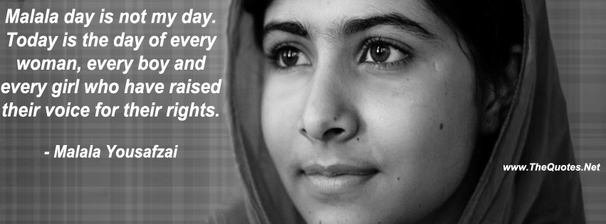Malala Yousafzai Quotes Thequotes Net Motivational Quotes