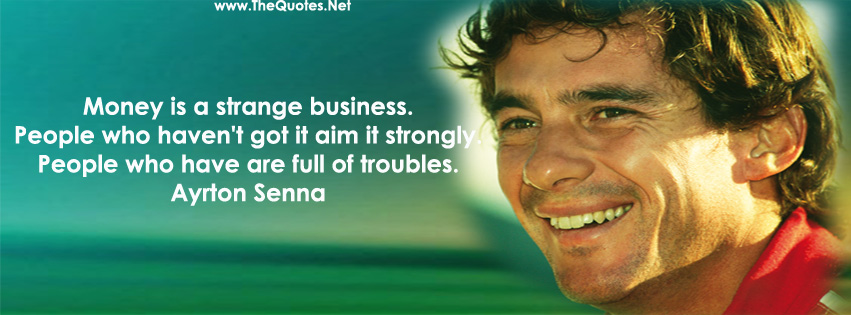 Ayrton Senna Quotes Image Quotes At Relatably Com: Facebook Cover Image