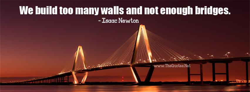 We Build Too Many Walls
