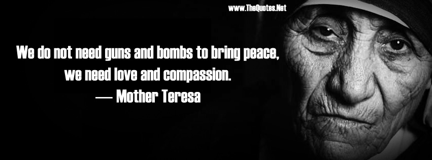 speech by mother teresa on how to love god