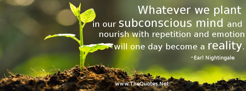 The Power Of Subconscious Mind Thequotes Net Motivational Quotes