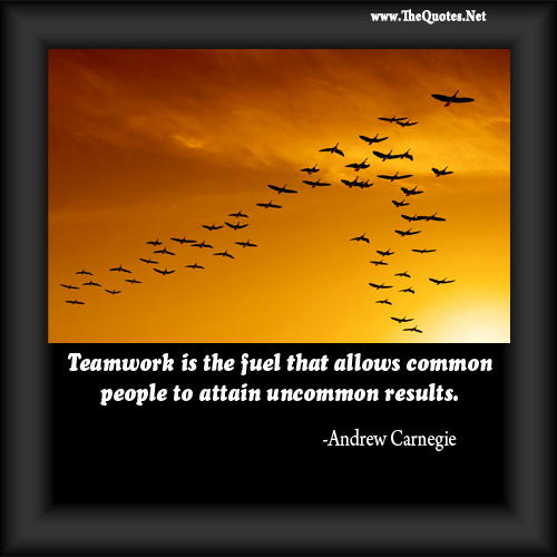 Andrew Carnegie On Teamwork