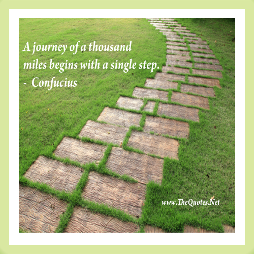 Image result for confucius quote a journey of a thousand miles