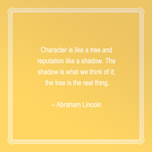 Inspirational Quotes On Character: Character Quotes Image