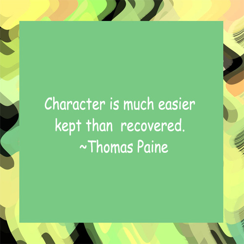 Inspirational Quotes On Character: 20 Character Quotes. QuotesGram
