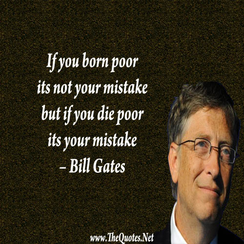 Bill Gates On Education Quotes: Bill Gates Quotes Image