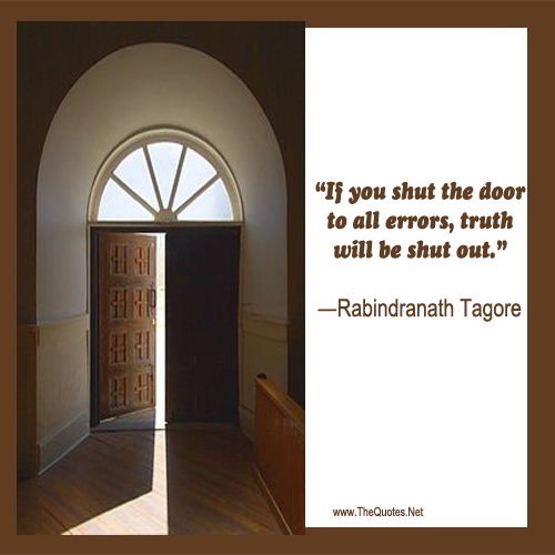 Rabindranath tagore quotes image page 2 thequotes net for 1 2 shut the door