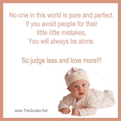 No One In This World Is Pure And Perfect Life Image