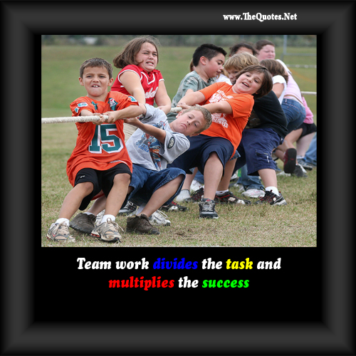 Funny Team Quotes: Motivational Quotes For TeamWork